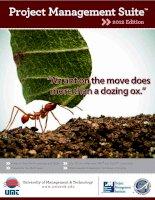 Project Management Suite™» 2012 Edition