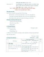 Giáo án số 12 - Bài 5: TIÊU DIỆT CÁC LOẠI CÔN TRÙNG GÂY HẠI, CHỨA VÀ LOẠI BỎ RÁC THẢI pot