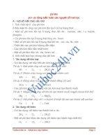 Tính chất hóa học của phi kim, phân loại hợp chất hữu cơ pdf
