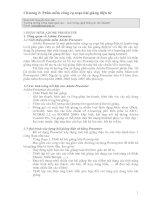 Chương 2: Phần mềm công cụ soạn bài giảng điện tử potx