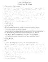 Viết bài tập làm văn số 5 lớp 7 - văn mẫu