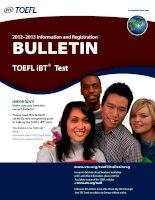 2012–2013 Information and Registration - BULLETIN docx
