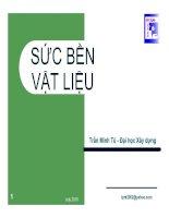 Giáo trình Sức bền vật liệu _ Chương 2 Chịu kéo (nén) đúng tâm doc