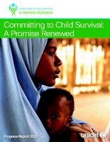 Committing to Child Survival: A Promise Renewed doc