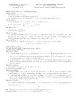 đề thi đại học môn toán năm 2009 khối b