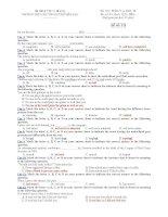 trường thpt chuyên huỳnh mẫn đạt - đề thi anh văn 12 học kì 2 (đề số 575)