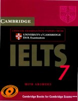 Tài liệu luyện thi IELTS Cambridge lelts 7