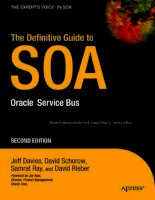 The Definitive Guide to SOA: Oracle Service Bus, Second Edition potx