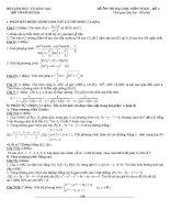 đề tham khảo ôn thi đại học môn toán đề (4)