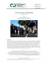 Economic Value of Walkability pptx