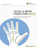 DIGITAL & MEDIA PREDICTIONS 2013 pptx
