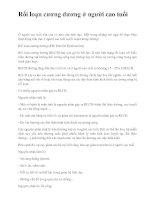 Rối loạn cương dương ở người cao tuổi pdf