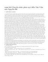 soạn bài Chuyện chức phán sự ở đền Tản Viên của Nguyễn Dữ