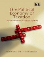 The Political Economy of Taxation pptx