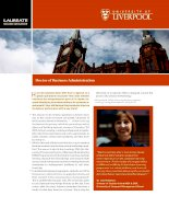 University of Liverpool''''s DBA is designed around this proven educational methodology. pptx