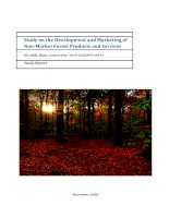 Study on the Development and Marketing of Non-Market Forest Products and Services potx