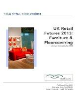 UK Retail Futures 2013: Furniture & Floorcovering pdf