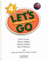 Let''''s go 4 Student''''s Book (2nd Edition) pptx
