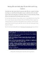 Hướng dẫn cách khắc phục lỗi màn hình xanh trong windows pptx