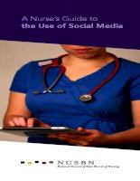 A Nurse's Guide to the Use of Social Media docx