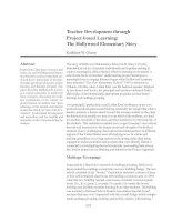 Teacher Development through Project-based Learning: The Hollywood Elementary Story docx