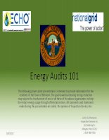 Energy Audits 101: WHAT IS AN ENERGY AUDIT? pot