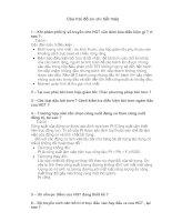 Câu hỏi đồ án chi tiểt máy pdf