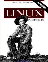 Linux Pocket Guide, 2nd Edition potx