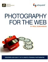 Photography for the Web ppt