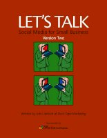 Let's taLk Social Media for Small Business Version Two doc