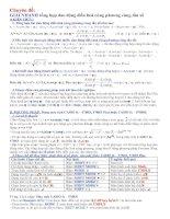 Chuyên đề:.GIẢI NHANH tổng hợp dao động điều hoà cùng phương cùng tần số doc