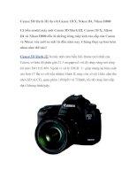Canon 5D Mark III đọ với Canon 1D X, Nikon D4, Nikon D800 pot