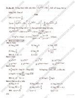 đại số - giải tích 12 - bài tập và phương pháp giải part 2