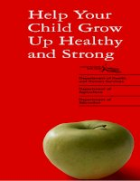 Help Your Child Grow Up Healthy and Strong pot