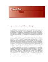 Management Accounting and Decision-Making doc