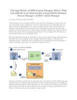 Tích hợp FileNet với IBM Content Manager, Phần 1: Phân tích, thiết kế và mô hình hóa khi sử dụng FileNet Business Process Manager và IBM Content Manager docx