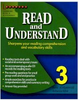 read and understand 3
