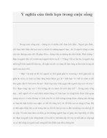 Ý nghĩa của tình bạn trong cuộc sống pdf