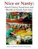 NICE OR NASTY Food Choice, Food Law and Health in South East Asia doc