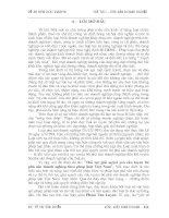 ĐỀ ÁN MÔN HỌC PHÁP LUẬT KINH DOANH VIỆT NAM : ĐỀ TÀI