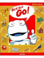 Get Set - Go!: Pupil''''s Book Starter part 1 pptx