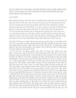 ĐÊ TÀI: PHÂN TÍCH TÁC ĐỘNG CỦA MỘT SỐ BIỆN PHÁP THUỘC CHÍNH SÁCH TIỀN TỆ MÀ CHÍNH PHỦ VIỆT NAM ĐÃ SỬ DỤNG NHẰM KIỀM CHẾ LẠM PHÁT TRONG THỜI GIAN QUA doc