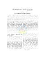 Văn minh lúa nước và biến đổi khí hậu doc