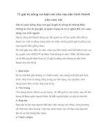 12 giá trị sống cơ bản mà cha mẹ cần hình thành cho con cái potx