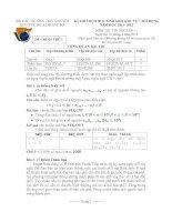 Đề thi HSG khu vực Bắc Bộ năm 2012 Môn Tin 11 docx