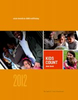 KIDS COUNT databook statetrendsinchildwell-being 2012 pdf