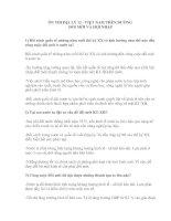 ÔN THI ĐỊA LÝ 12 - VIỆT NAM TRÊN ĐƯỜNG ĐỔI MỚI VÀ HỘI NHẬP pdf