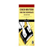 Cisco Routers for the Desperate, 2nd Edition pdf