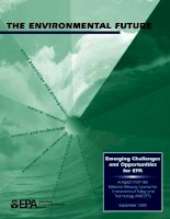 the_environmental future emerging challenges and opportunities for epa potx
