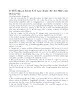 17 Điều Quan Trọng Khi Bạn Chuẩn Bị Cho Một Cuộc Phỏng Vấn pdf